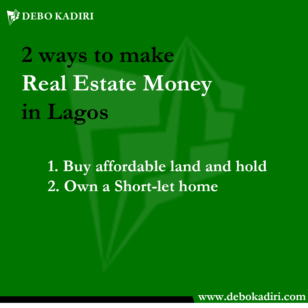 You are currently viewing How real estate can actually improve your wealth in Lagos